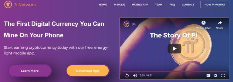 Trang web của Pi Network